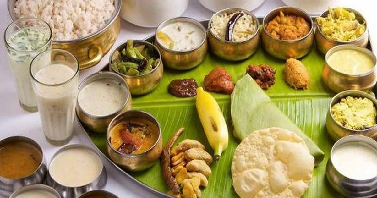 Happy vishu 2017 best sms whatsapp messages greetings for Aharam traditional cuisine of tamil nadu