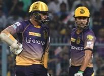 Sunil Narine, Gautam Gambhir, KKR, IPL 2017, Kings XI Punjab