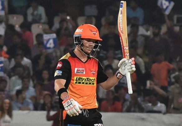David Warner, SRH, IPL 2017, RPS, half-century