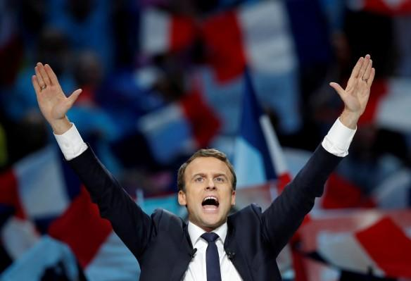 french presidential elections, french centrist candidate Emmanuel Macron, indian stock markets, wipro q4 results