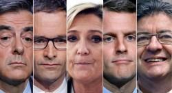 French elections candidates
