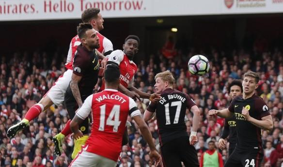 Arsenal, Manchester City, FA Cup semifinal, Welbeck, Otamendi
