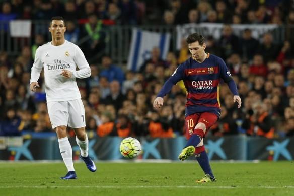 Cristiano Ronaldo, Lionel Messi, Real Madrid, Barcelona