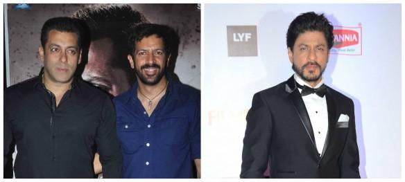 Salman Khan, Kabir Khan and Shah Rukh Khan