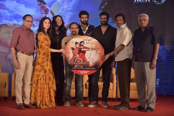 Baahubali audio launch, Baahubali team kochi