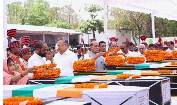 CRPF Rajnath Singh