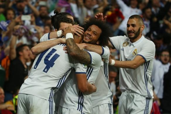 Real Madrid, Marcelo, La Liga, Karim Benzema