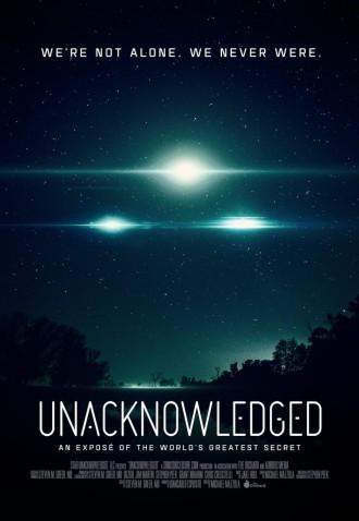 UNACKNOWLEDGED, movie, UFO, aliens conspiracy theorists, weird news,