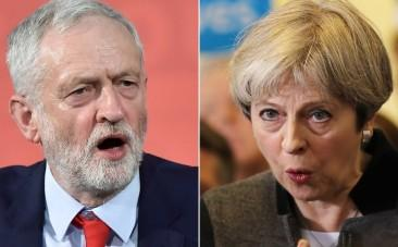 Theresa May and Jeremy Corbyn clash in final PMQs before UK election