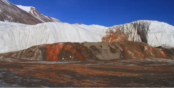 Antarctica, Blood Falls, environment, mystery,