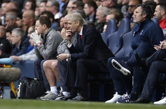 Arsene Wenger, Arsenal, Tottenham, White Hart Lane, North London Derby