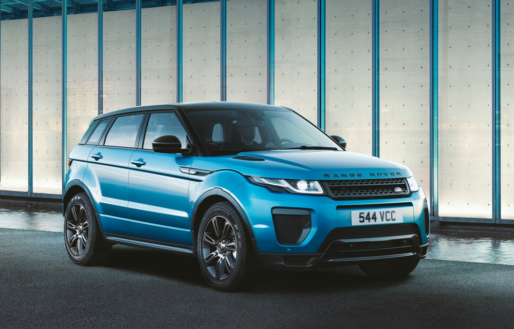 range rover evoque turns 6 land rover celebrates with. Black Bedroom Furniture Sets. Home Design Ideas