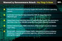 Key things to know about WannaCry