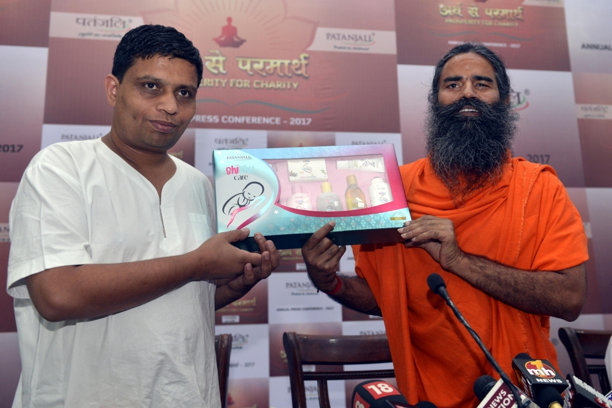Patanjali is the 'most overhyped brand' in India: Marico chief - International Business Times, India Edition