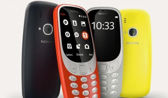 Nokia 3310 as seen in Nokia website