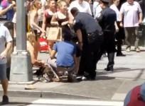 Car ploughs into pedestrians in New Yorks Times Square