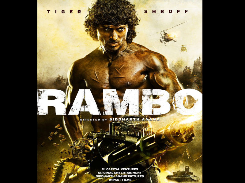 First look poster of Rambo Hindi remake, starring Tiger Shroff, causes massive social media spat