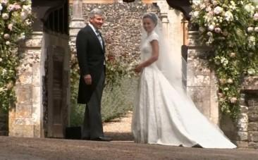 Pippa Middleton, The Sister Of The Duchess Of Cambridge Arrives At Church