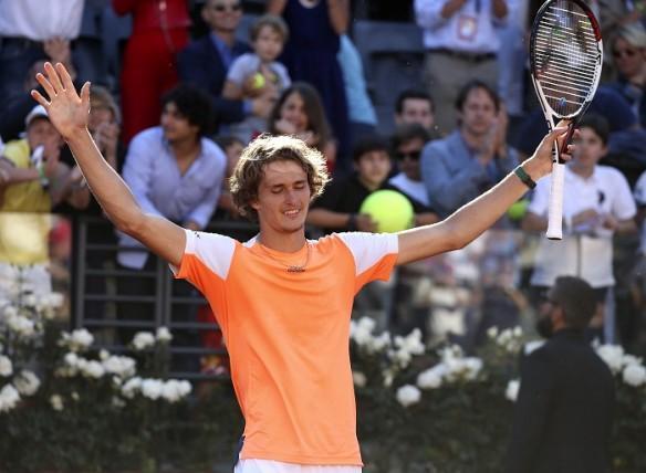 Alexander Zverev, Rome Masters, French Open