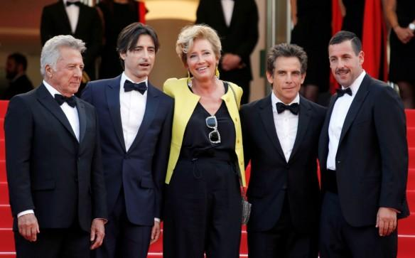 Cannes Ben Stiller Adam Sandler movie Meyerowitz stories