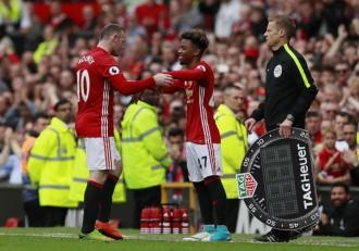 angel gomes, wayne rooney, manchester united
