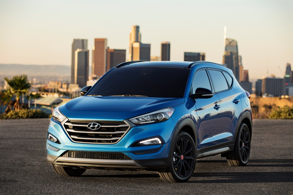 performance spec hyundai tucson suv in the offing from n. Black Bedroom Furniture Sets. Home Design Ideas