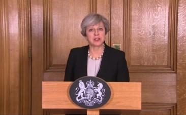 Theresa May increases UK terror threat level from severe to critical