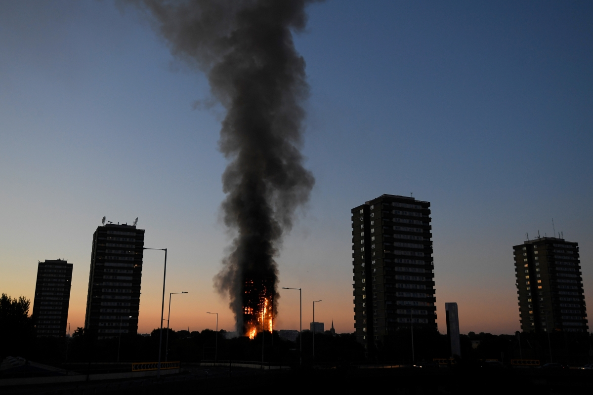 London Fire Check Out Before And After Photos Of 27 Story