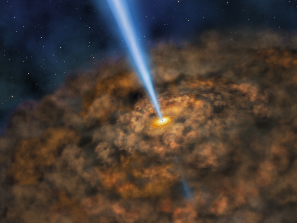 black holes in space in action - photo #24