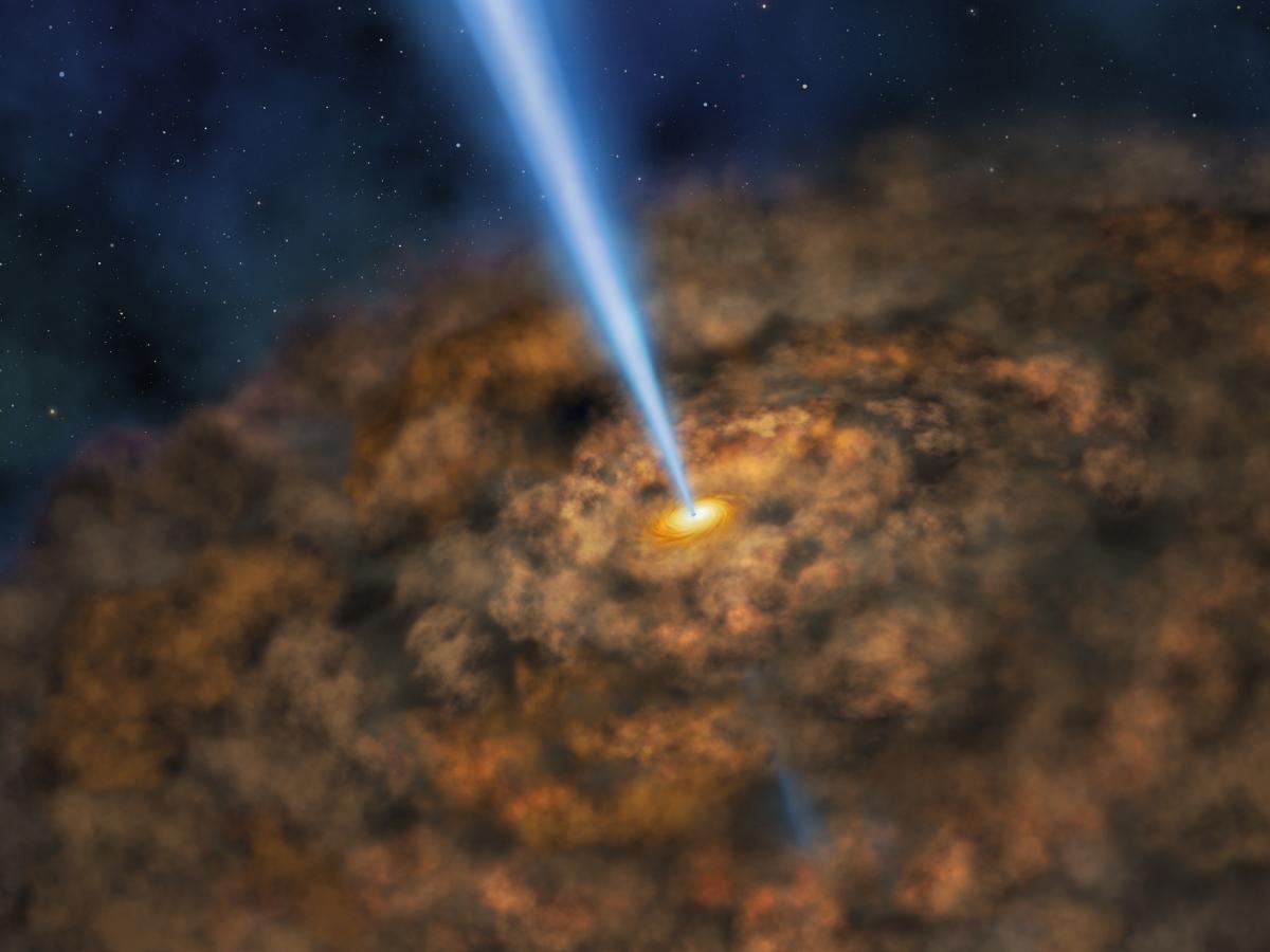 NASA: SOFIA detects cool dust around energetic active ...