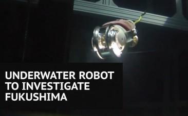 Little Sunfish underwater robot to inspect Fukushima nuclear plant damage