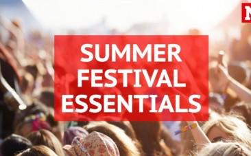 Six essential items to take to summer festivals