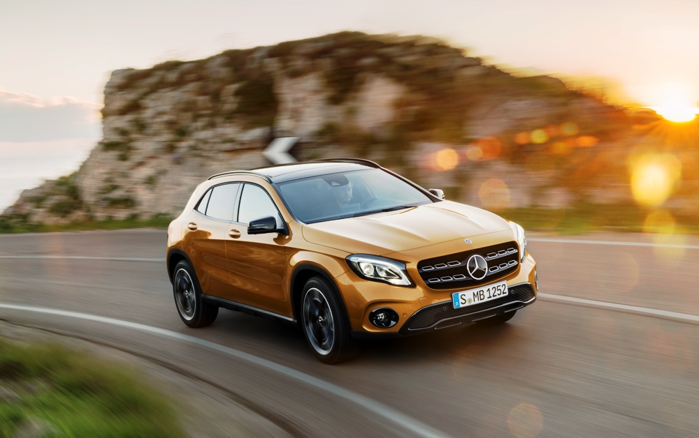Mercedes benz gla facelift india launch date revealed all for All models of mercedes benz cars in india