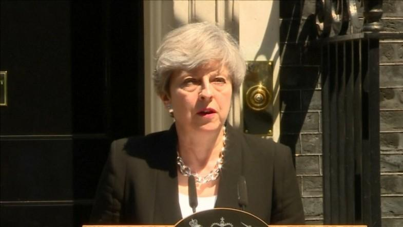 Theresa May on mosque attack: Hatred and evil of this kind will never succeed