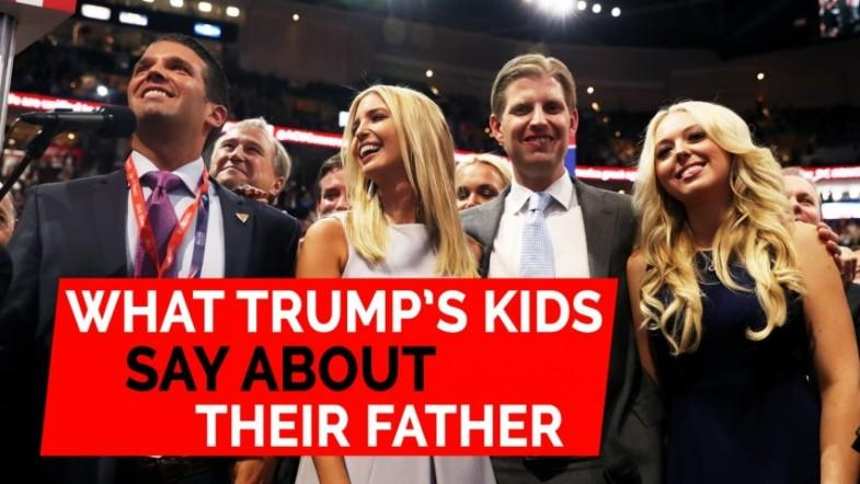 Fathers Day: What Donald Trumps kids say about their dad