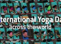 International Yoga Day across the world