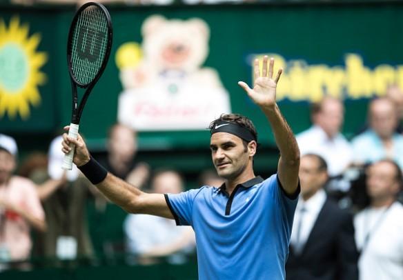 Roger Federer, Mischa Zverev, Roger Federer vs Mischa Zverev, Halle Open 2017, Gerry Weber open 2017