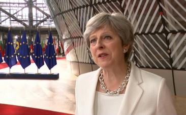 U.K. Prime Minister Theresa May says offer on rights of EU citizens is fair and serious