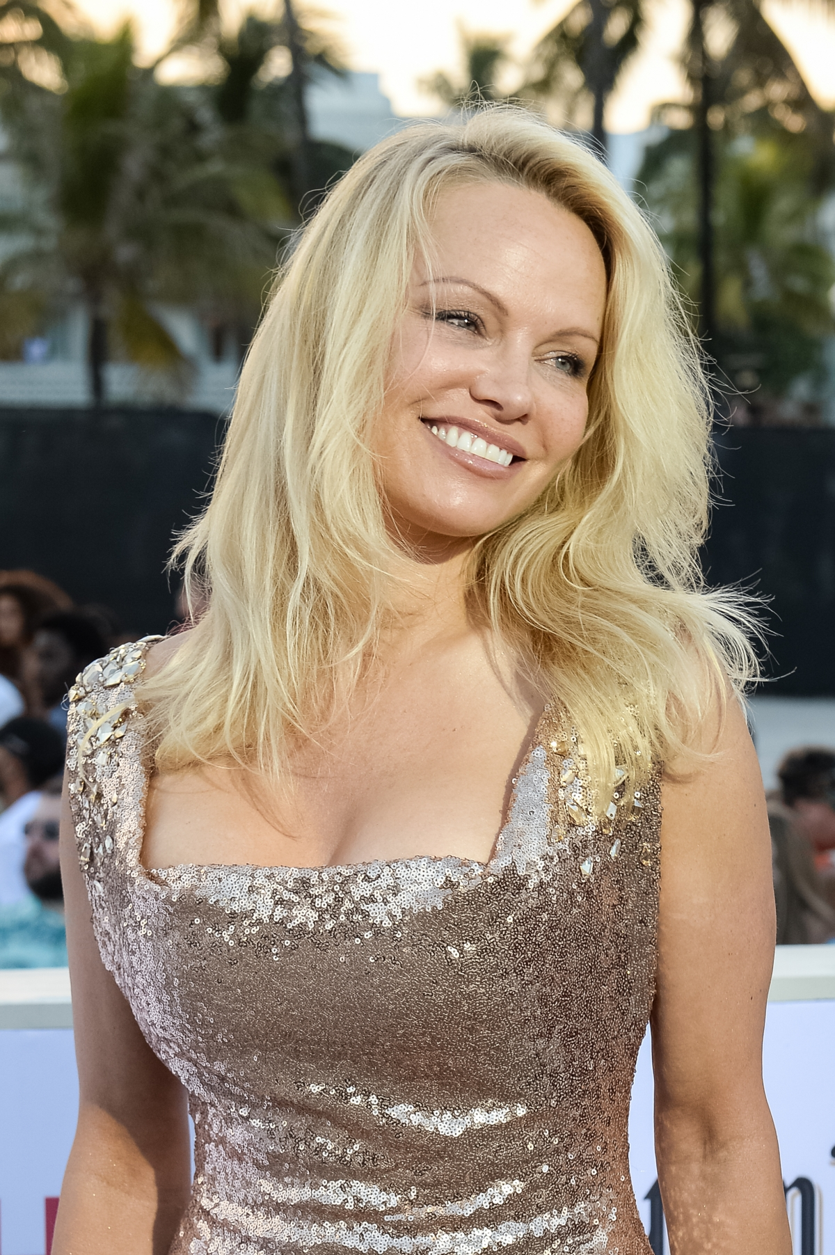Has Pamela Anderson found love again in Sevilla's Adil ... Pamela Anderson