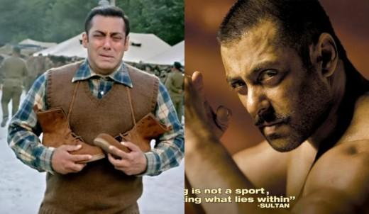 Salman Khan in Tubelight and in Sultan