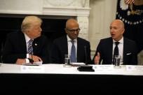 Donald Trump meets corporate heads