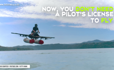 Do you dream of flying? Here's an alternative to beat the messy traffic that doesn't require a pilot's license to fly.