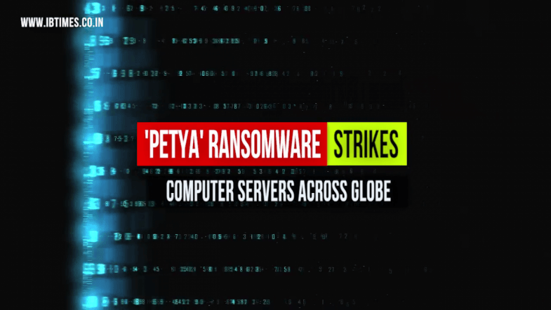 'Petya' ransomware strikes computer servers across globe.