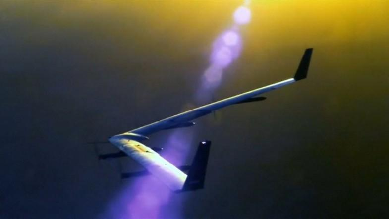 Facebook completes second successful test of internet beaming drones