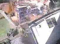 Watch Garden Shed Explode Due To Incorrectly Stored Petrol