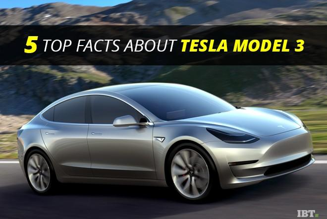 Five facts about Tesla Model 3