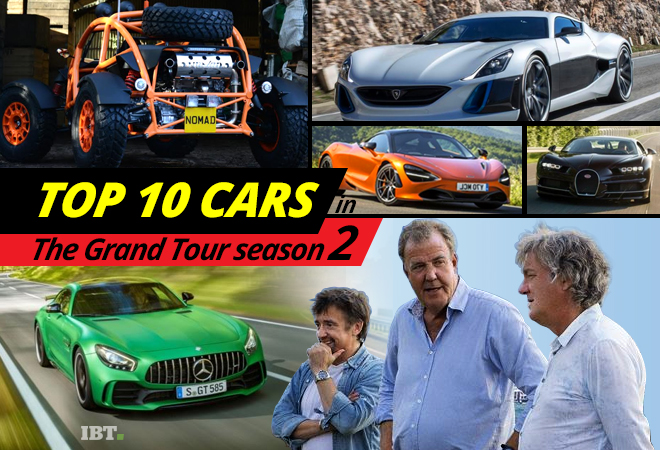 top 10 cars in the grand tour season 2 of jeremy clarkson richard hammond and james may. Black Bedroom Furniture Sets. Home Design Ideas