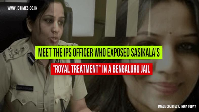 IPS Officer exposes Sasikala's