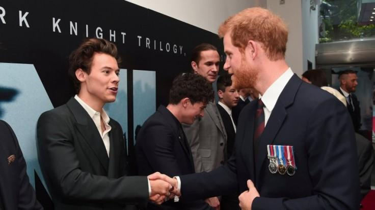 Prince Harry and Harry Styles attend Dunkirk world premiere
