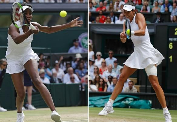 Venus Williams, Garbine Muguruza, Wimbledon 2017, ladies singles, final